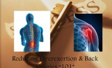 thumbnail of Reducing Overexertion & Back Injuries