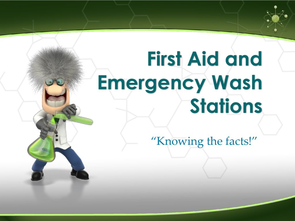 thumbnail of First Aid and Emergency Wash Station Requirements