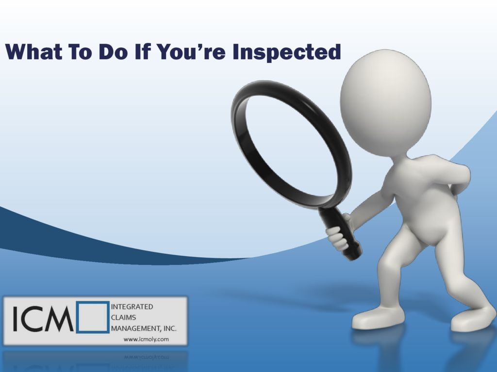 thumbnail of What to do if you are inspected