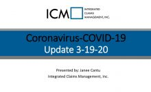 thumbnail of 3-19-20 Coronavirus Update – Slide Deck PDF