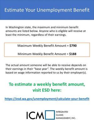 thumbnail of Estimate Unemployment Benefits