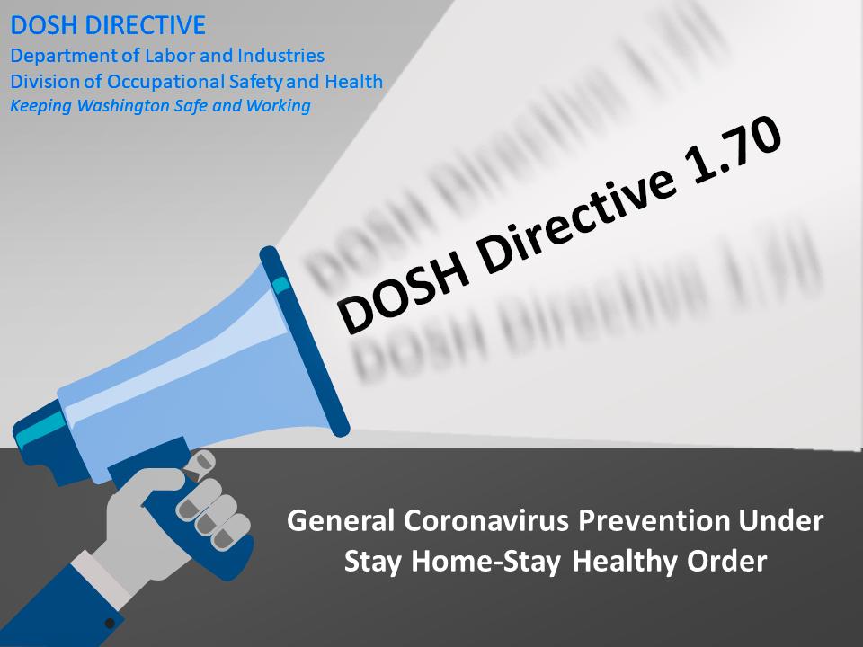 DOSH Directive 1.70