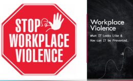 Stop Workplace Violence Title Card